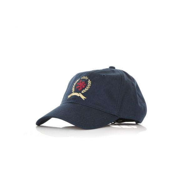 cappello-visiera-curva-tju-crest-cap-dark-sapphire