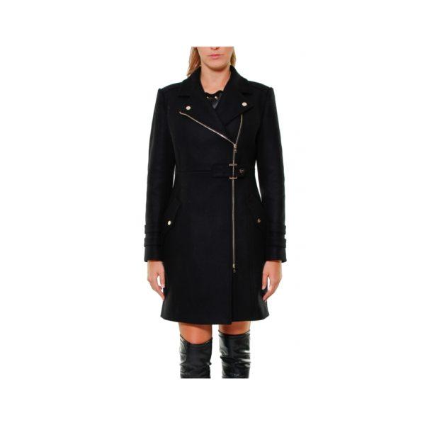 cappotto-in-panno-chiusura-zip-stile-chido-nero