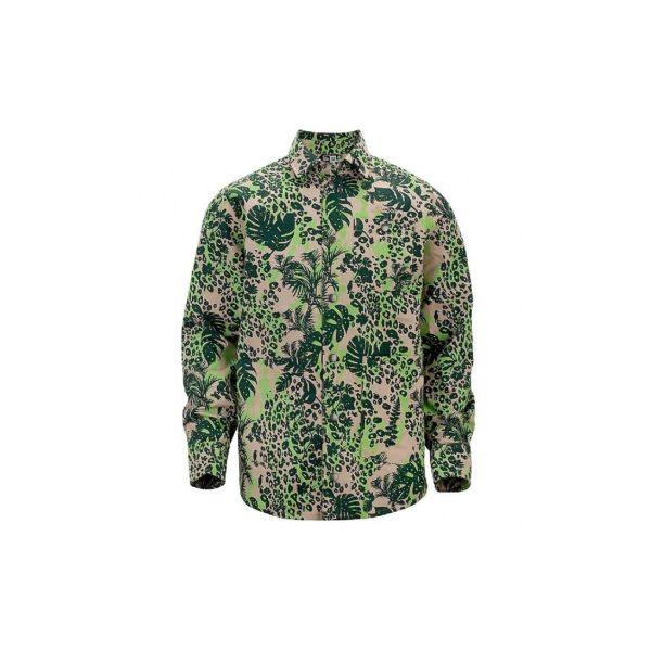 giubbotto-new-era-shirt-l-s-jacket-jungle-all-over-lime-green-unico