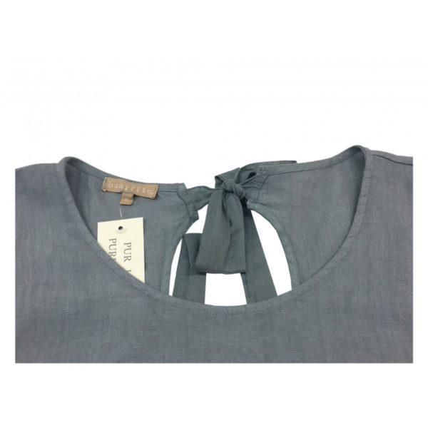 humility-1949-abito-donna-mezza-manica-grigio-ha6004-made-in-italy-unico
