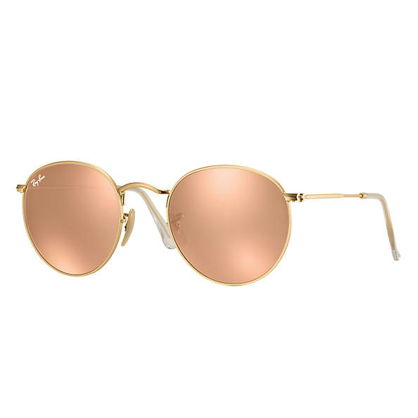 ray-ban-round-sunglasses-rb3447-112-z2-size-50-gold