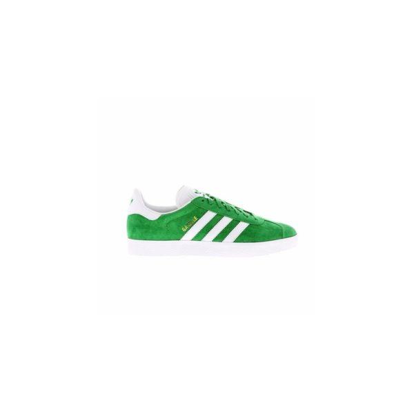 scarpa-bassa-gazelle-verde-bianco